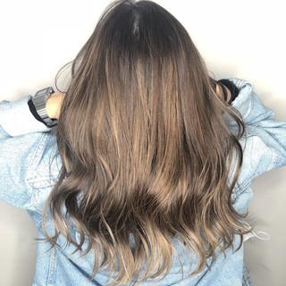 透明感 フェミニン ヘアカラー 外国人風カラー ヘアスタイルや髪型の写真・画像
