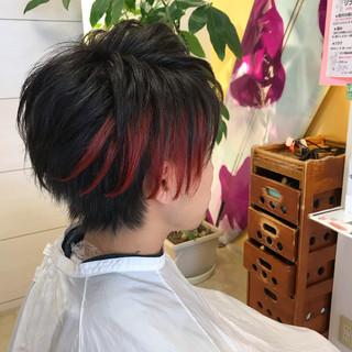 簡単ヘアアレンジ 成人式 アウトドア ショート ヘアスタイルや髪型の写真・画像