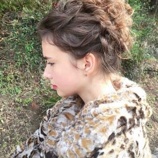 ゆるナチュラル アンニュイほつれヘア セミロング おしゃれさんと繋がりたい ヘアスタイルや髪型の写真・画像