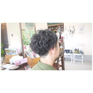 ツイスト パーマ ショート ナチュラル ヘアスタイルや髪型の写真・画像