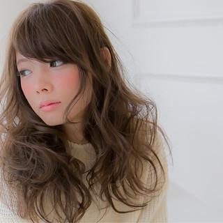 セミロング 愛され 簡単 ゆるふわ ヘアスタイルや髪型の写真・画像