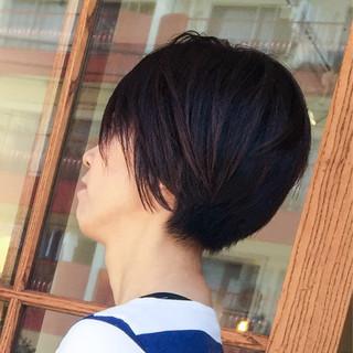 ボブ ラフ 小顔 ショート ヘアスタイルや髪型の写真・画像 ヘアスタイルや髪型の写真・画像