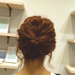 ガーリー ヘアアレンジ ゆるふわ フェミニン ヘアスタイルや髪型の写真・画像