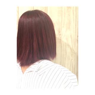 透明感 フェミニン ピンク ピンクアッシュ ヘアスタイルや髪型の写真・画像