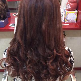 大人かわいい 外国人風 フェミニン ストリート ヘアスタイルや髪型の写真・画像