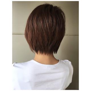 ショートボブ ショートレイヤー ショート モード ヘアスタイルや髪型の写真・画像