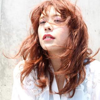 波ウェーブ パーマ 外国人風 ストリート ヘアスタイルや髪型の写真・画像