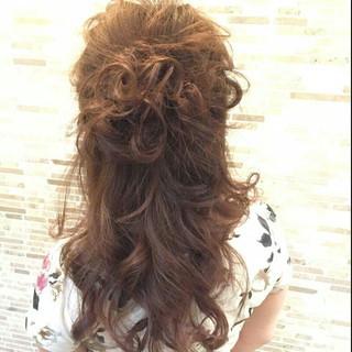 愛され モテ髪 大人かわいい ロング ヘアスタイルや髪型の写真・画像