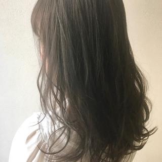 デート 冬 ロング リラックス ヘアスタイルや髪型の写真・画像