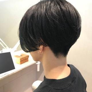 ショート アッシュ 坊主 ベリーショート ヘアスタイルや髪型の写真・画像