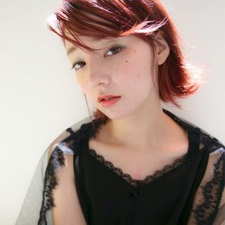 外国人風 ハイトーン モード エフォートレス ヘアスタイルや髪型の写真・画像