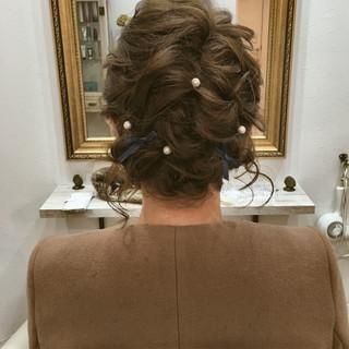 ボブ パーティ ゆるふわ 結婚式 ヘアスタイルや髪型の写真・画像 ヘアスタイルや髪型の写真・画像