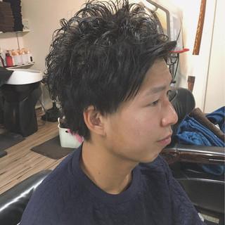 有渡山正和さんのヘアスナップ