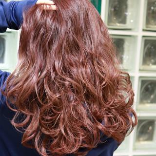大人かわいい フェミニン ロング ガーリー ヘアスタイルや髪型の写真・画像
