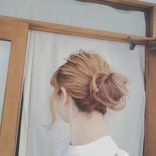 フェミニン デート ナチュラル エフォートレス ヘアスタイルや髪型の写真・画像