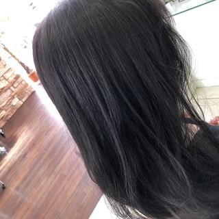 女子力 フェミニン ナチュラル ミディアム ヘアスタイルや髪型の写真・画像