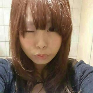 かわいい 愛され モテ髪 セミロング ヘアスタイルや髪型の写真・画像