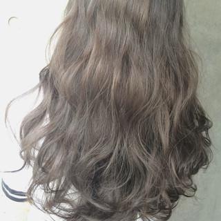 暗髪 黒髪 大人かわいい ハイライト ヘアスタイルや髪型の写真・画像