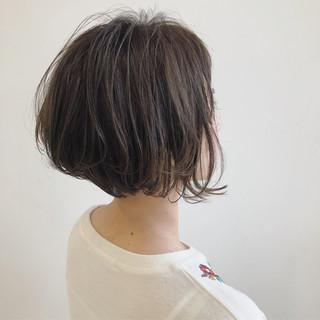 グラデーションカラー ボブ 外国人風 アンニュイ ヘアスタイルや髪型の写真・画像