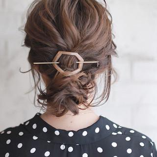 くせ毛風 ボブ 大人かわいい ヘアアレンジ ヘアスタイルや髪型の写真・画像 ヘアスタイルや髪型の写真・画像