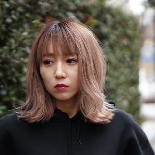 ダブルカラー ブリーチカラー 外国人風カラー ブリーチオンカラー ヘアスタイルや髪型の写真・画像