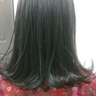 ブルージュ ロブ ボブ ナチュラル ヘアスタイルや髪型の写真・画像