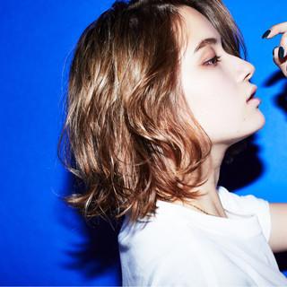 大人女子 小顔 こなれ感 ハイライト ヘアスタイルや髪型の写真・画像