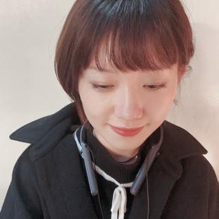 ショートヘア ナチュラル ママヘア 大人ヘアスタイル ヘアスタイルや髪型の写真・画像