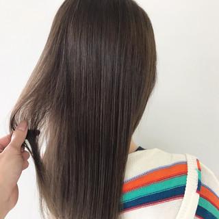 スモーキーカラー ヘアアレンジ デート ナチュラル ヘアスタイルや髪型の写真・画像