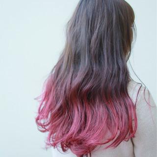 ストリート ゆるふわ 謝恩会 ピンク ヘアスタイルや髪型の写真・画像