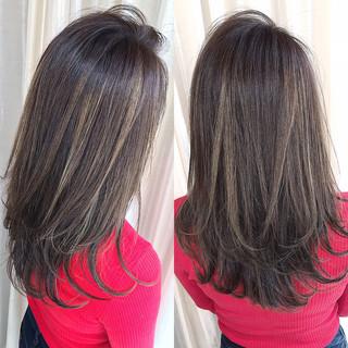 ナチュラル 3Dハイライト 外国人風カラー コントラストハイライト ヘアスタイルや髪型の写真・画像 ヘアスタイルや髪型の写真・画像