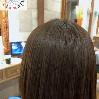 ダメージレス ナチュラル マット 透明感 ヘアスタイルや髪型の写真・画像