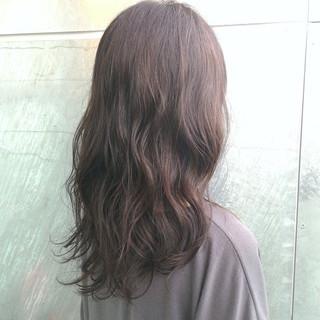 ロング フェミニン パーマ 大人かわいい ヘアスタイルや髪型の写真・画像