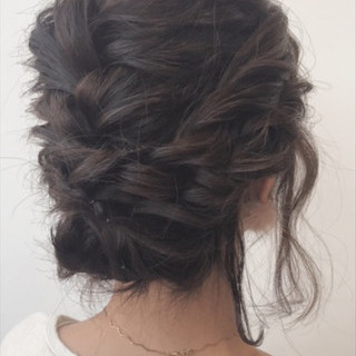 ルーズ ガーリー デート ボブ ヘアスタイルや髪型の写真・画像