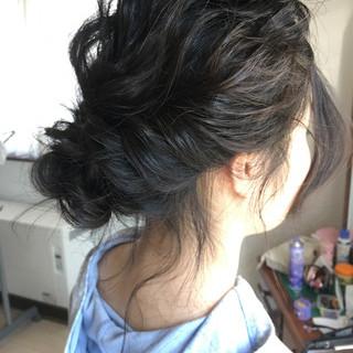 ミディアム 小顔 ヘアアレンジ ショート ヘアスタイルや髪型の写真・画像