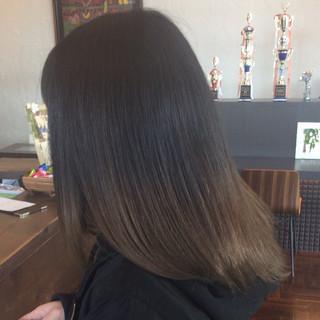 大人かわいい 外国人風カラー イルミナカラー グラデーションカラー ヘアスタイルや髪型の写真・画像