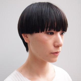マッシュウルフ マッシュショート ショートヘア ショート ヘアスタイルや髪型の写真・画像