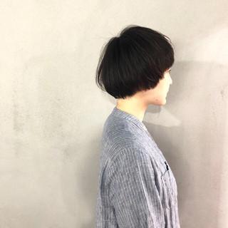 マッシュヘア ナチュラル お手入れ簡単!! 簡単スタイリング ヘアスタイルや髪型の写真・画像