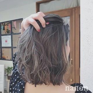 秋 ボブ 透明感 ナチュラル ヘアスタイルや髪型の写真・画像