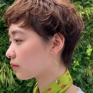 阿藤俊也 ショート 似合わせカット PEEK-A-BOO ヘアスタイルや髪型の写真・画像