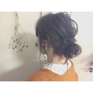 デート 大人女子 ショート 簡単ヘアアレンジ ヘアスタイルや髪型の写真・画像