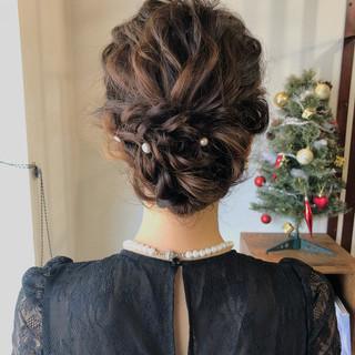 アンニュイほつれヘア 結婚式 デート ナチュラル ヘアスタイルや髪型の写真・画像 ヘアスタイルや髪型の写真・画像
