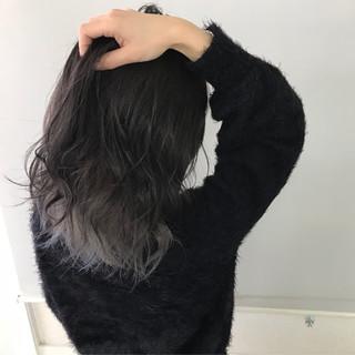インナーカラー 外国人風カラー ボブ ナチュラル ヘアスタイルや髪型の写真・画像