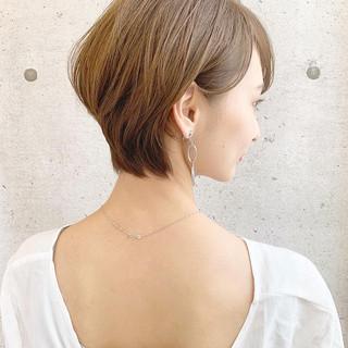 ショート フェミニン 大人ショート 大人可愛い ヘアスタイルや髪型の写真・画像