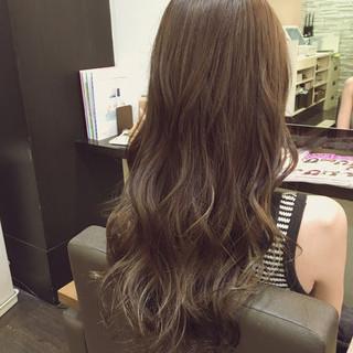 グラデーションカラー 外国人風 フェミニン 大人かわいい ヘアスタイルや髪型の写真・画像