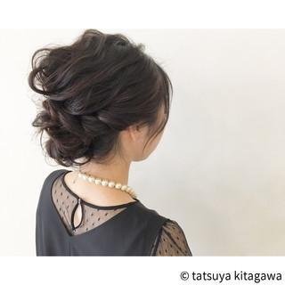 ヘアアレンジ アップスタイル フェミニン 外国人風 ヘアスタイルや髪型の写真・画像