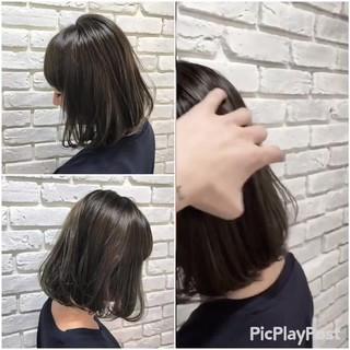 ブルージュ ボブ ストリート 外国人風カラー ヘアスタイルや髪型の写真・画像