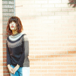 パーマ 大人かわいい 外国人風 ボブ ヘアスタイルや髪型の写真・画像