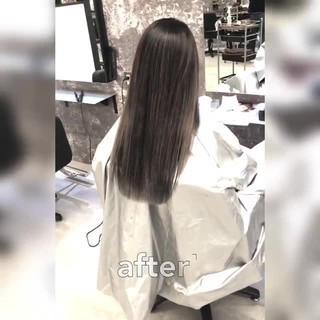 ロング ストリート 外国人風 外国人風カラー ヘアスタイルや髪型の写真・画像