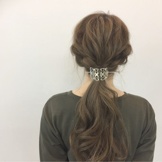 簡単ヘアアレンジ ロング ヘアアレンジ 簡単 ヘアスタイルや髪型の写真・画像 ヘアスタイルや髪型の写真・画像